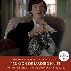 reunion madrid knits febrero