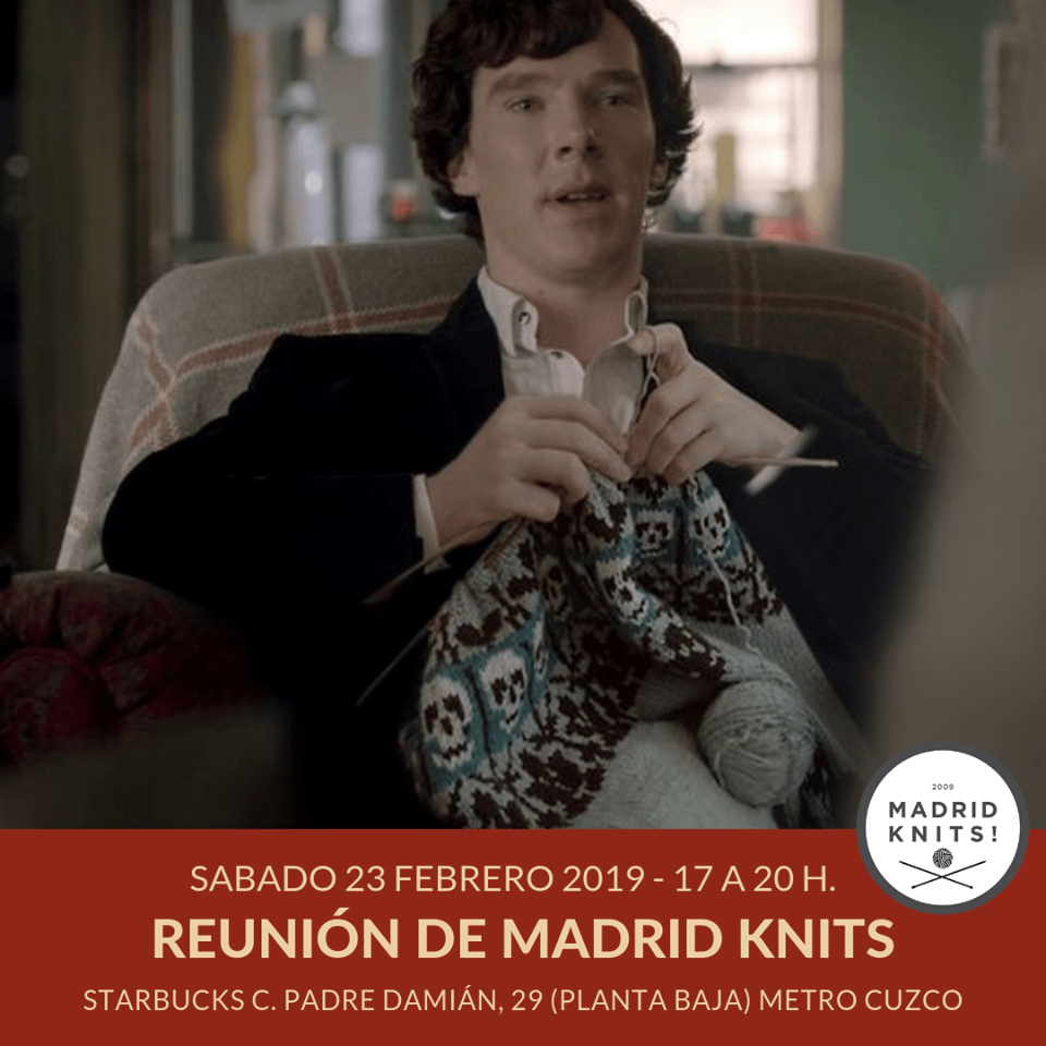 reunion madrid knits febrero