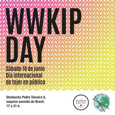 429.- Crónica 382ª Reunión oficial de tejedores Madrid Knits WWKIPD 2016 (Sábado 18 junio 2016)