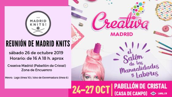 REUNIÓN TEJEDORES SÁBADO 26 OCTUBRE 2019 Creativa