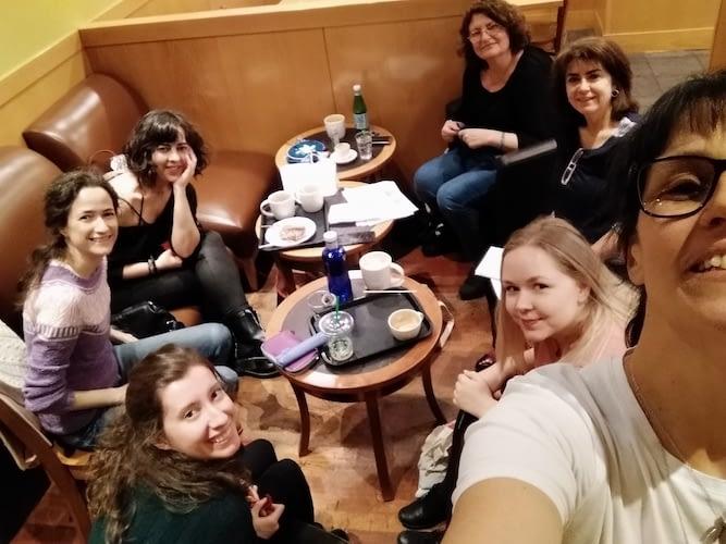 Reunión tejedores Madrid Knits sábado 30 marzo 2019