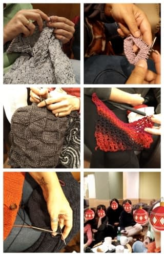 collage fotos madrid knits