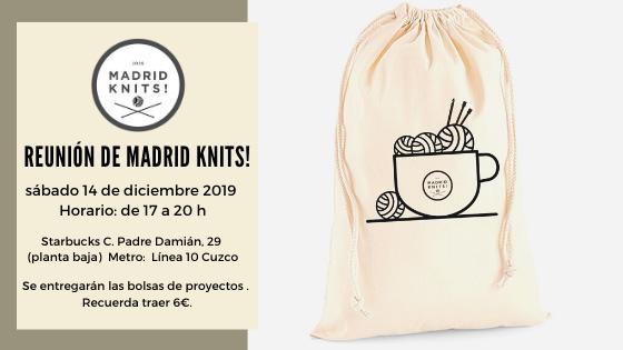 Reunion diciembre 2019 madrid knits