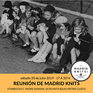 reunion julio 2019 madrid knits