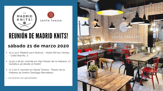post Reunion marzo 2020 madrid knits