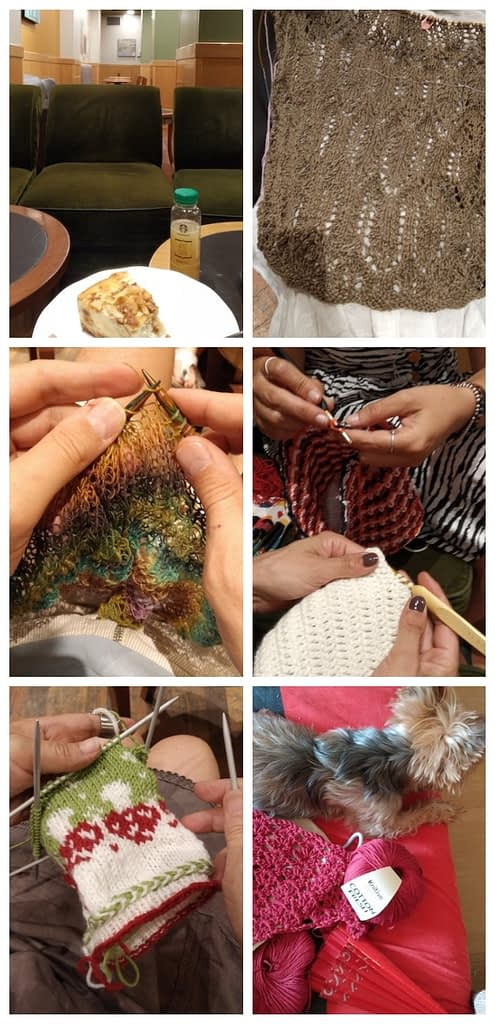 collage madrid knits julio 2019