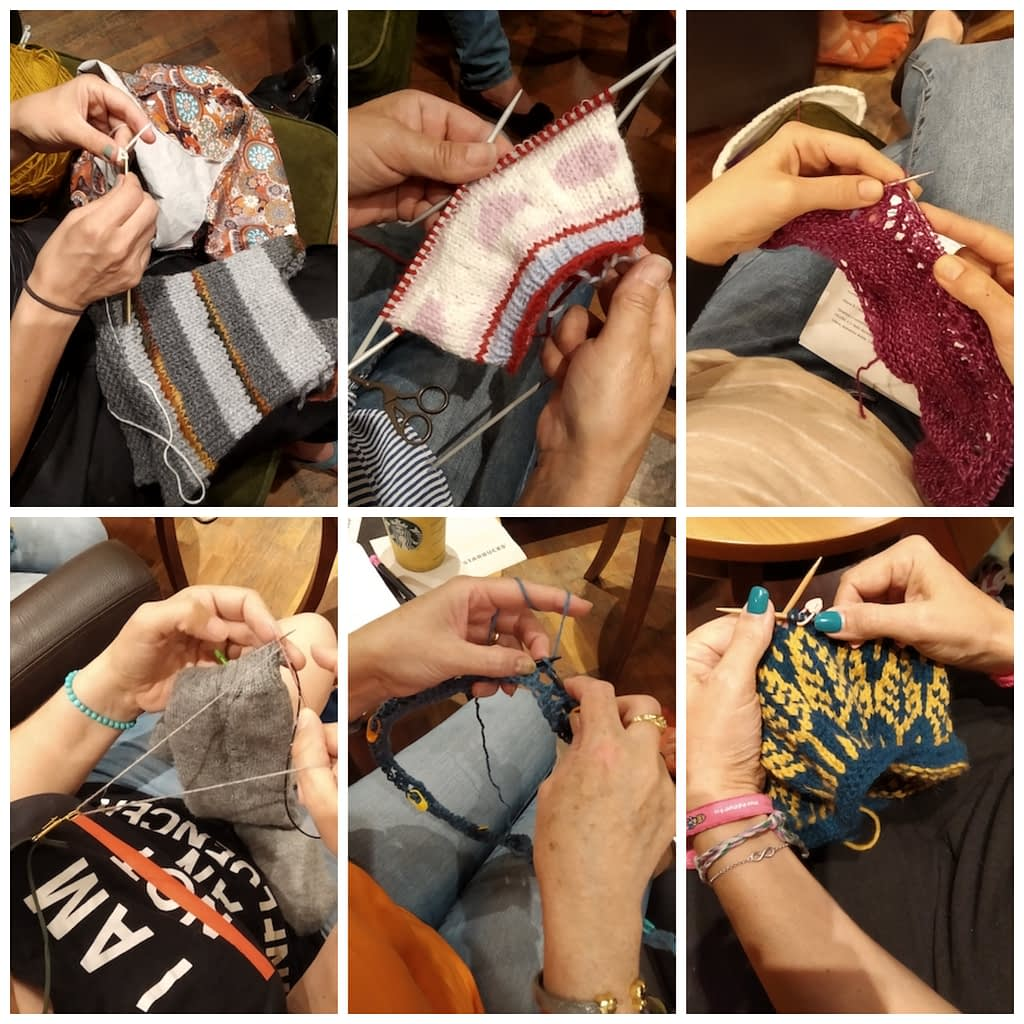 collage madrid knits