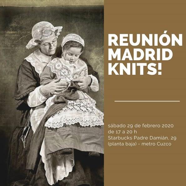 Reunión madrid knits febrero 2020