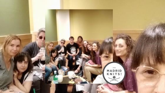 Crónica reunión de tejedores madrid knits sábado 11 mayo 2019