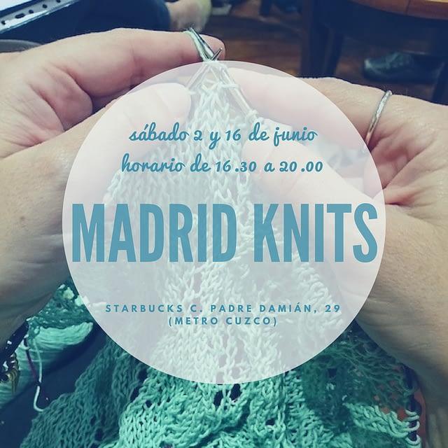 Anuncio reunion junio madrid knits